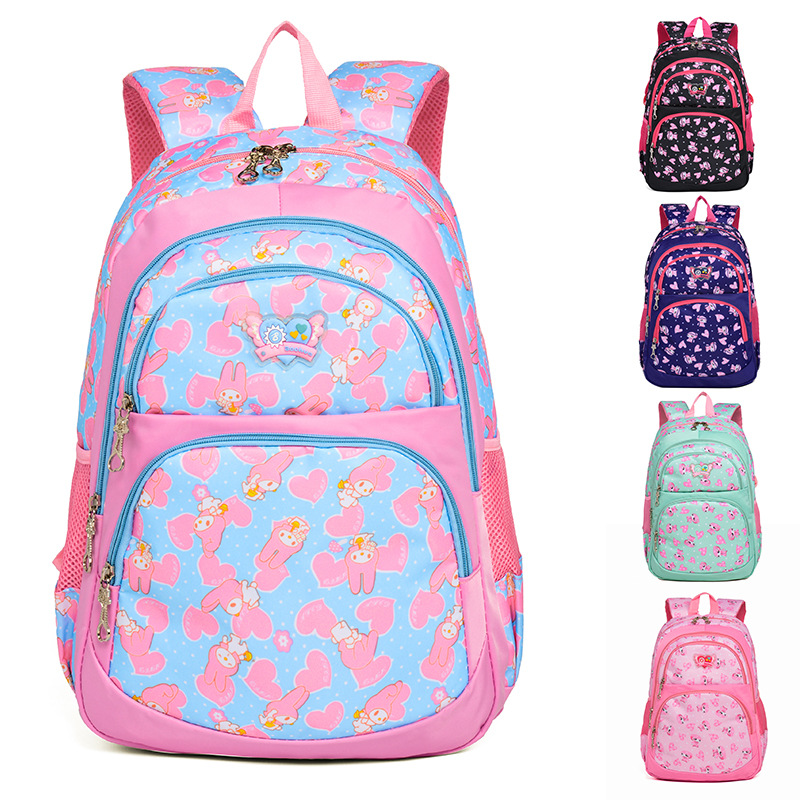 Printing School Backpack kids Bag Orthopedic Backpacks Children School Bags For girls Primary Schoolbag Mochila escolar infantil