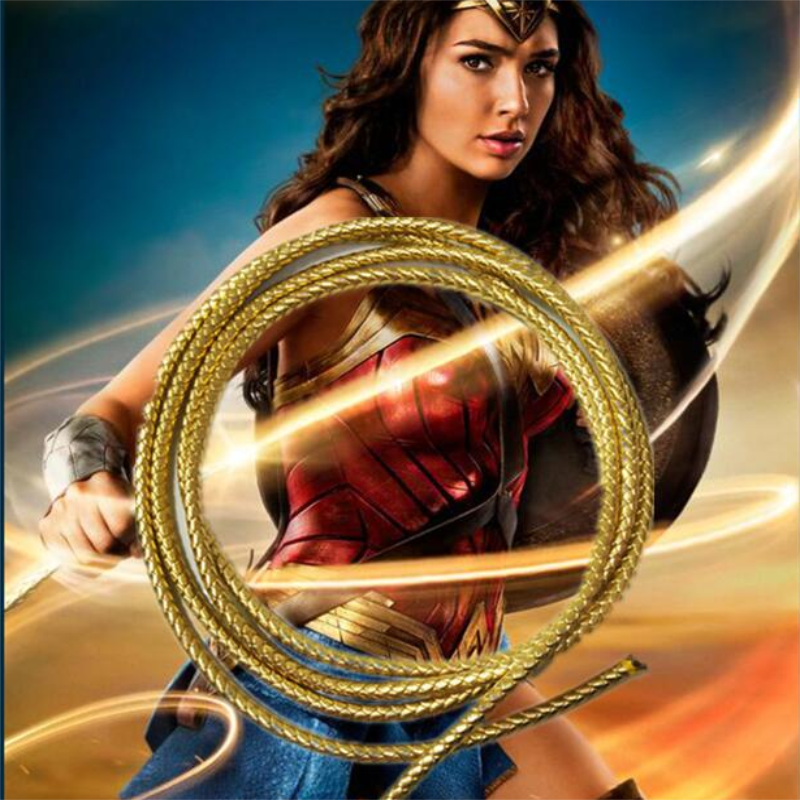 Movie Wonder Women Diana Cospay Rope Adult  Super Wonder Women Princess Diana Cosplay Costumes Belt Rope Accessories prop
