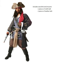Горячая распродажа Качество пиратский пиратские костюми весь костюм мультфильм пиратский ростовой костюм в виде пиццы (не inlcude аксессуары