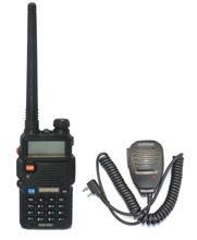 Novo 2020 baofeng UV-5R uu 136-174/400- 520 mhz banda dupla walkie talkies + marca baofeng mic