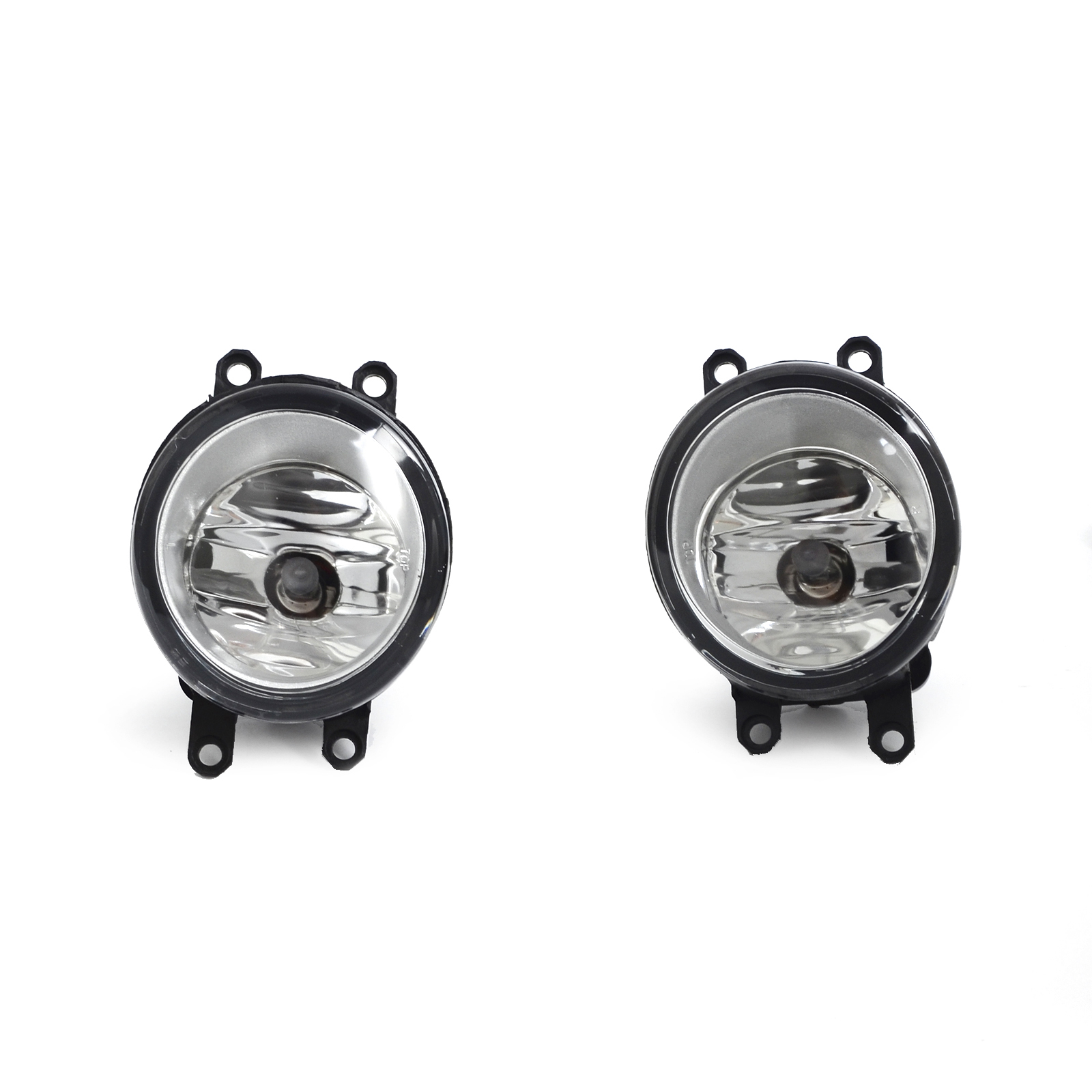 Driver & Passenger Sides Fog Light Lamps with H11 Bulbs For Toyota Lexus Scion for 04 10 nissan titan armada fog lights clear light lamps passenger driver usa domestic free shipping hot selling