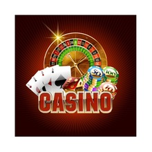 Laeacco Casino Gaming Chips Las Vegas Playing Cards Turntable Scenic Photographic Backgrounds Photography Studio Photo Backdrops