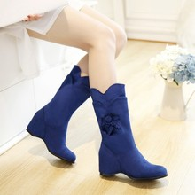 summer style thigh high women woman femininas mid calf  boots botas masculina zapatos botines mujer chaussure femme shoes HQ101
