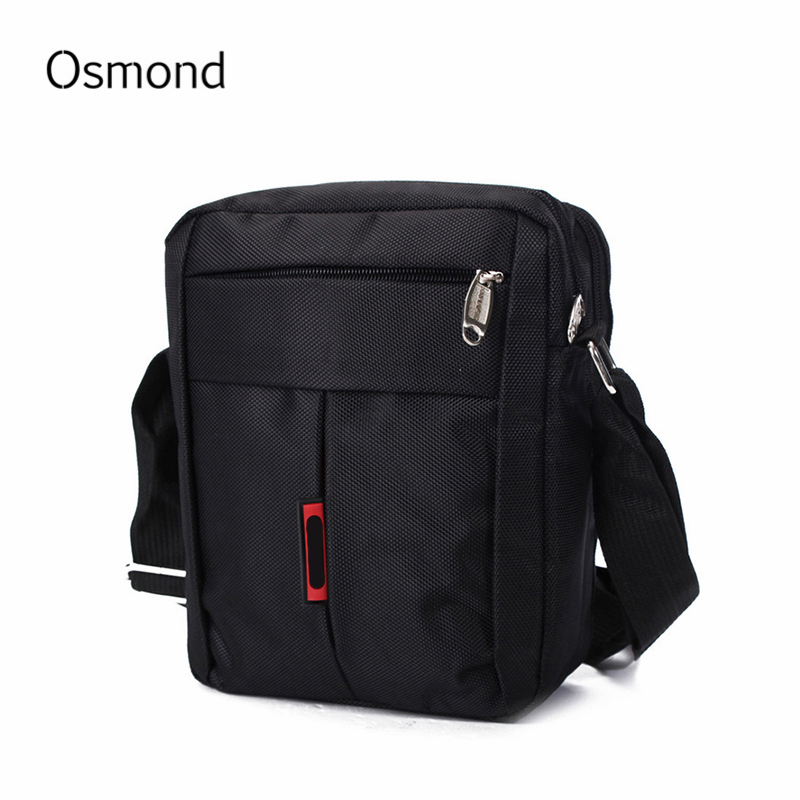 Osmond Canvas Mens Shoulder Bag Casual Business Messenger Oxford Travel Black Brown Crossbody Bags For Men Military Flap Quality