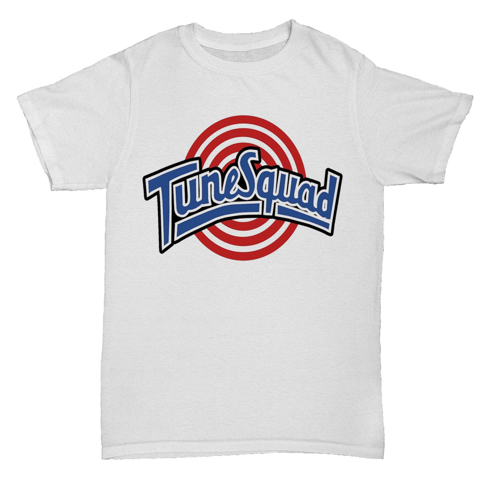 TUNE SQUAD Вдохновленный SPACE JAM 90 s кино Ретро культ Баскетболисту футболка новые летние Для мужчин хлопковая Футболка