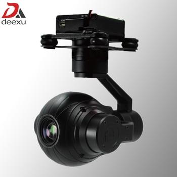 3 Axis Lightweight 1080P HD 10x zoom Drone Aerial Camera UAV Gimbal Camera jdrc jd 20s hd camera aerial ultra long flight time quadcopter uav