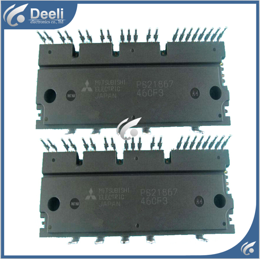 95% new good working for power module PS21867 PS21867-P frequency conversion module 2pcs/lot on sale 95% new good working original for frequency conversion module fpdb60ph60b igbt power module 2pcs set