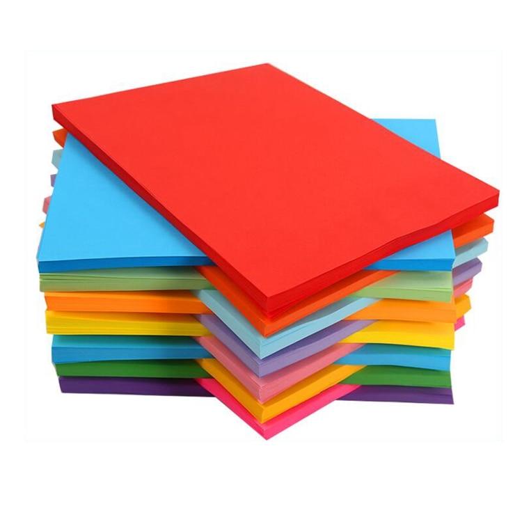 A4 multipurpose Art classroom children learn handmade colored paper for paper-cut