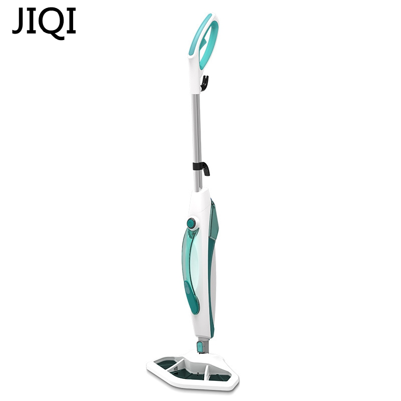 JIQI 1400W Steam cleaner Multifunctional cleaning machine Disinfector Sterilization Electric steam mop Household portable cukyi household electric multi function cooker 220v stainless steel colorful stew cook steam machine 5 in 1