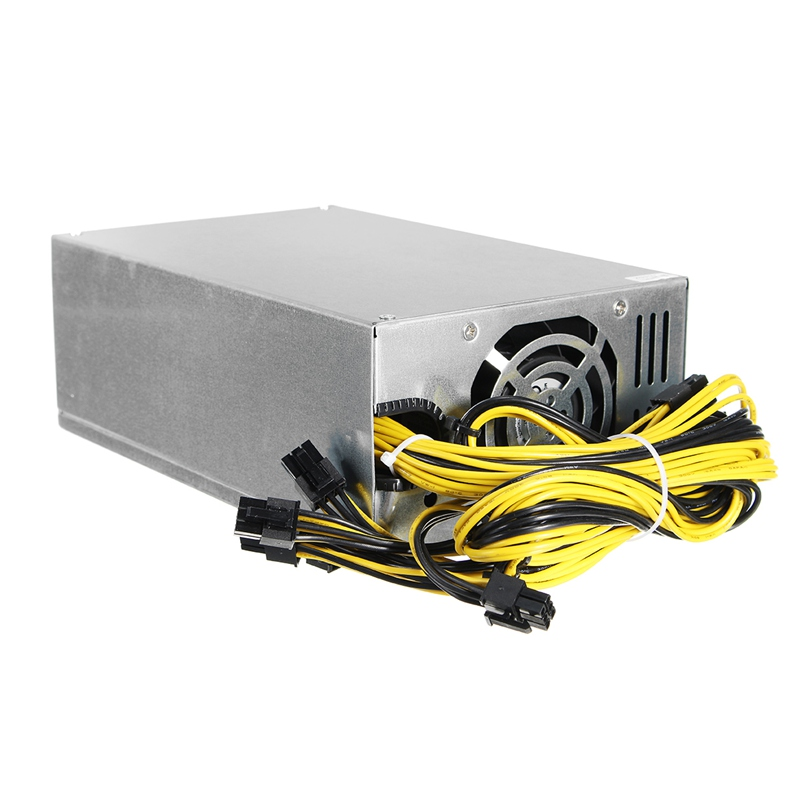 1800W Mining Power Supply For Eth Rig Ethereum Antminer Miner Machine S7 S9 High Quality computer power Supply For BTC spot goods antminer s5 1155 gh s asic miner bitcon miner 28nm btc mining sha 256 miner power consumption 590w