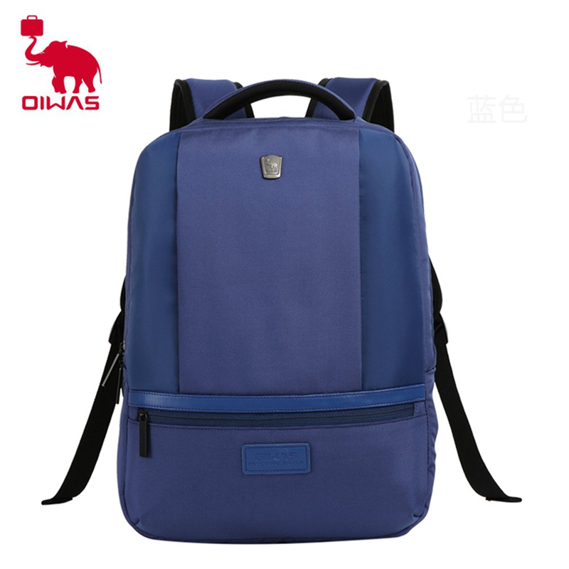 Oiwas Stylish Design Men Male Backpack Large Capacity 15 Inch Laptop Notebook Computer Backpack School Rucksack Bag 14 15 15 6 inch flax linen laptop notebook backpack bags case school backpack for travel shopping climbing men women