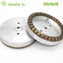 1pc Full segment 1# diamond wheel for glass edger straight line machine Dia175x15x10 Inner Diameter 12/22/50 grit 80# 100# BL001 1piece 4 position resin diamond cup wheel for glass edging and beveling dia100x10x10 hole 12 22 50 grit 240 online store bl021