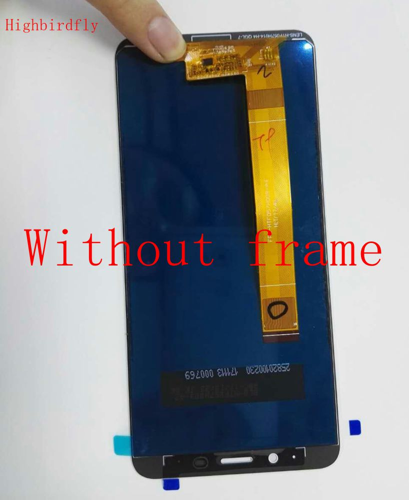 Highbirdfly Pour Meizu M6s M712H M712Q Lcd Écran Affichage + Tactile En Verre DIgitizer Assemblée Pour Meilan S6 De Réparation Lcd Cassés