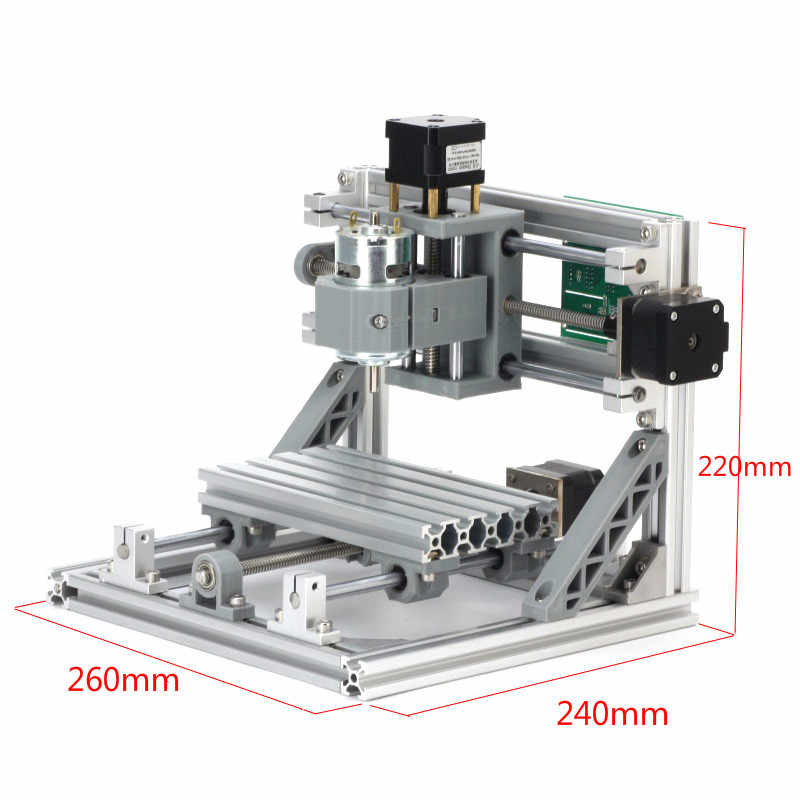GRBL control DIY CNC Router Kits 1610 mini CNC maschine, arbeits bereich 16x10x4,5 cm, 3 achse Pcb Fräsen maschine, Holz Router