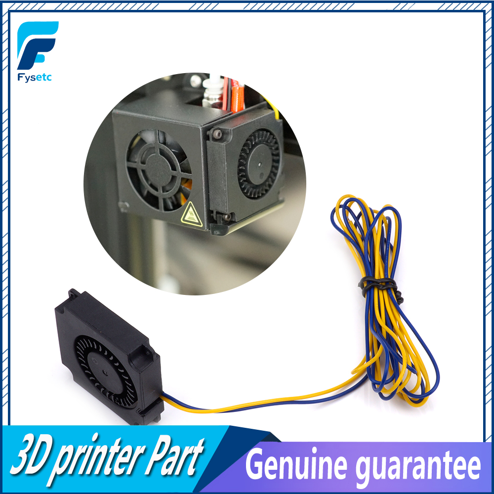 1PC Fan 4010 Blower 40MM 40x40x10MM 12V 0.2A DC Cooler Small Cooling Fan FOR 3D PRINTER PART Creality CR-10 dc 5v 12v 24v computer cpu cooler mini cooling fan 40mm 40x40x10mm small exhaust fan for 3d printer 4010 2 pin 40x40x10mm