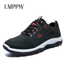 High Quality Outdoor Men Shoes 2019 Spring New Men's Shoes Breathable Men's Sports Leisure Running Shoes Male Damping Sneakers free shipping 2018 spring new puma leisure sports feather shoes series sneakers original men badminton shoes size 40 44