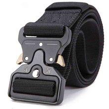 Military equipment combat men's tactical belt outdoor multi-function belt military metal buckle men's outdoor hunting belt цена 2017