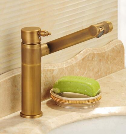 Вращающийся бассейна кран латунь ванной кран Одной ручкой torneiras Para Пиа de Banheiro раковина кухонный кран водопроводный кран