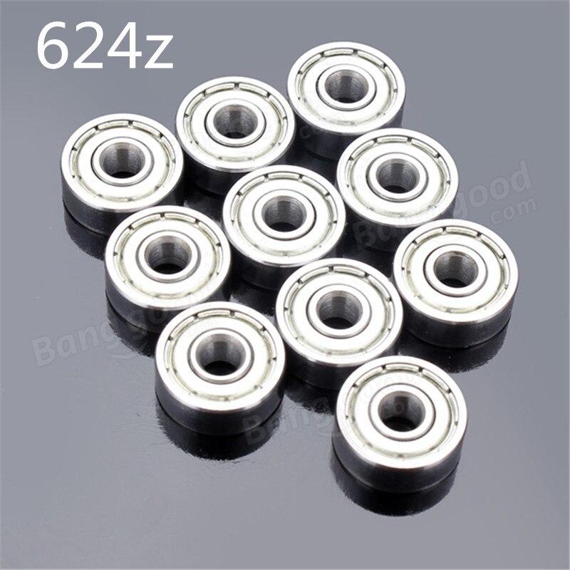4x13x5 mm 440c Stainless Steel Metal Ball Bearing S624zz 624zz 25 PCS