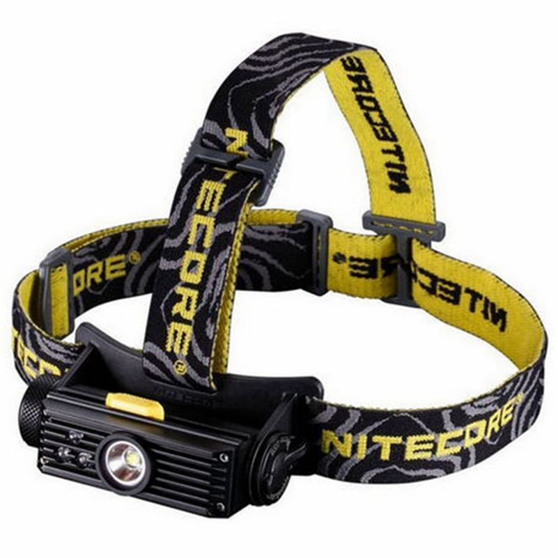 Nitecore RGB LED torch USB Rechargeable Headlight 900 Lumens flashlight HC90 Cree XM-L2 T6 Not Battery nitecore mh20 with 3200mah battery 1000 lumens cree xm l2 u2 led rechargeable mini flashlight waterproof led torch free shipping