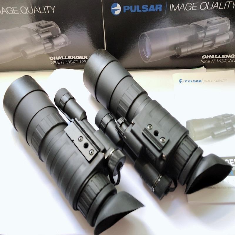 Original Pulsar 야간 투시경 Challenger GS 3.5x50 Pulsar 74097 야간 투시경 단안 3.5x 야간 투시경