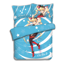 Hundred Anime Bedding Sheet Bedding Sets Comforter Sets Pillow Case 4PCS