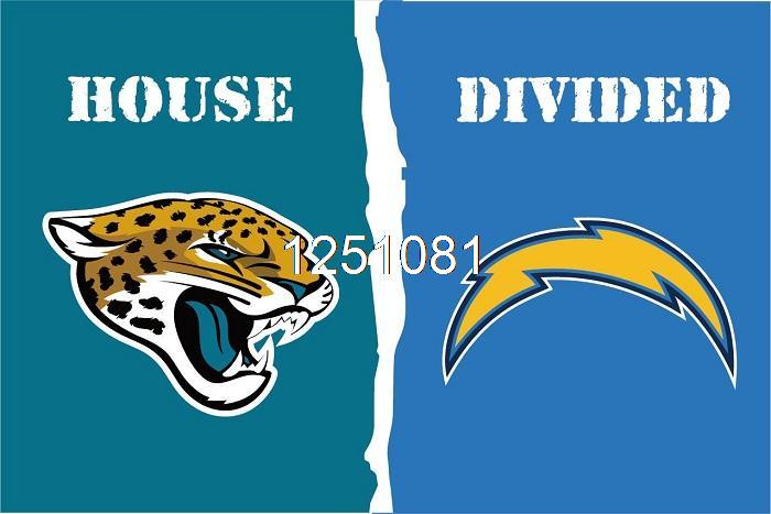 ᑐjacksonville Jaguars San Diego Diego Chargers House