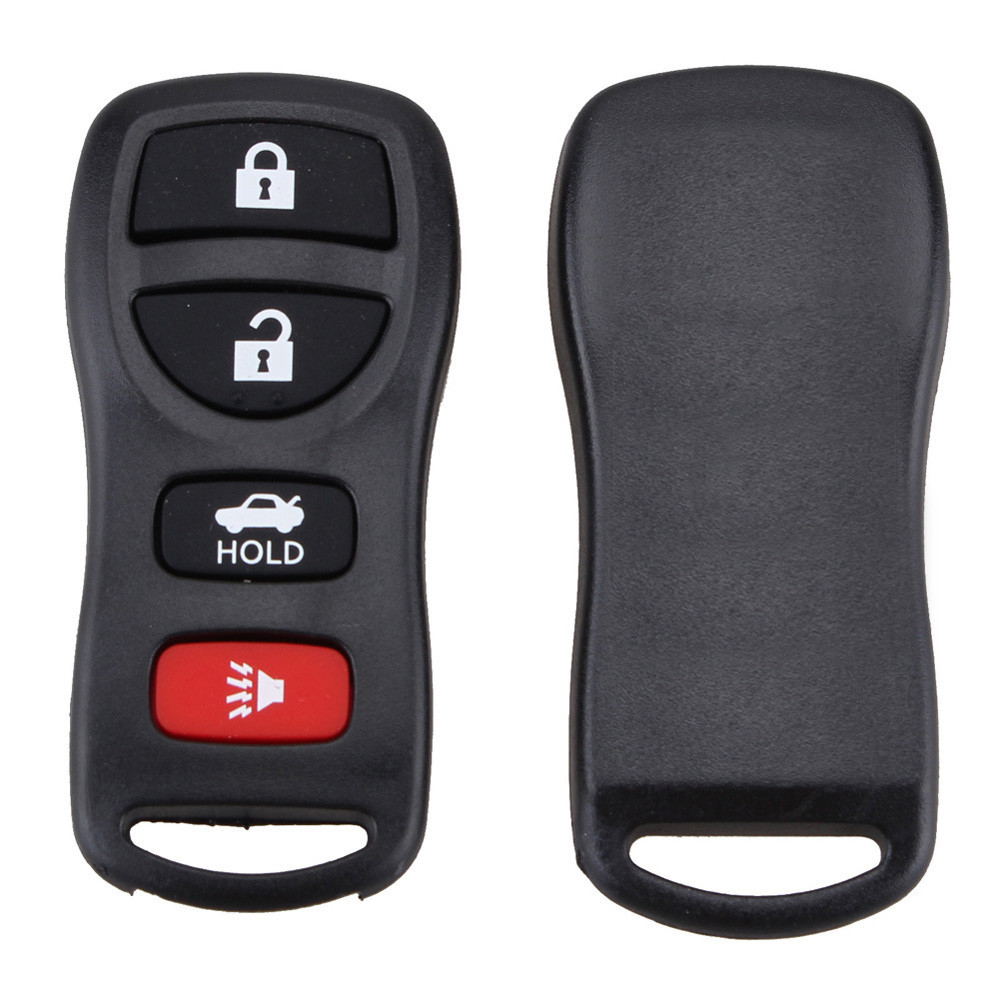 4 Buttons Auto Car Keyless Entry Remote Control Keys Fob Clicker Replacement for KBRASTU15 image