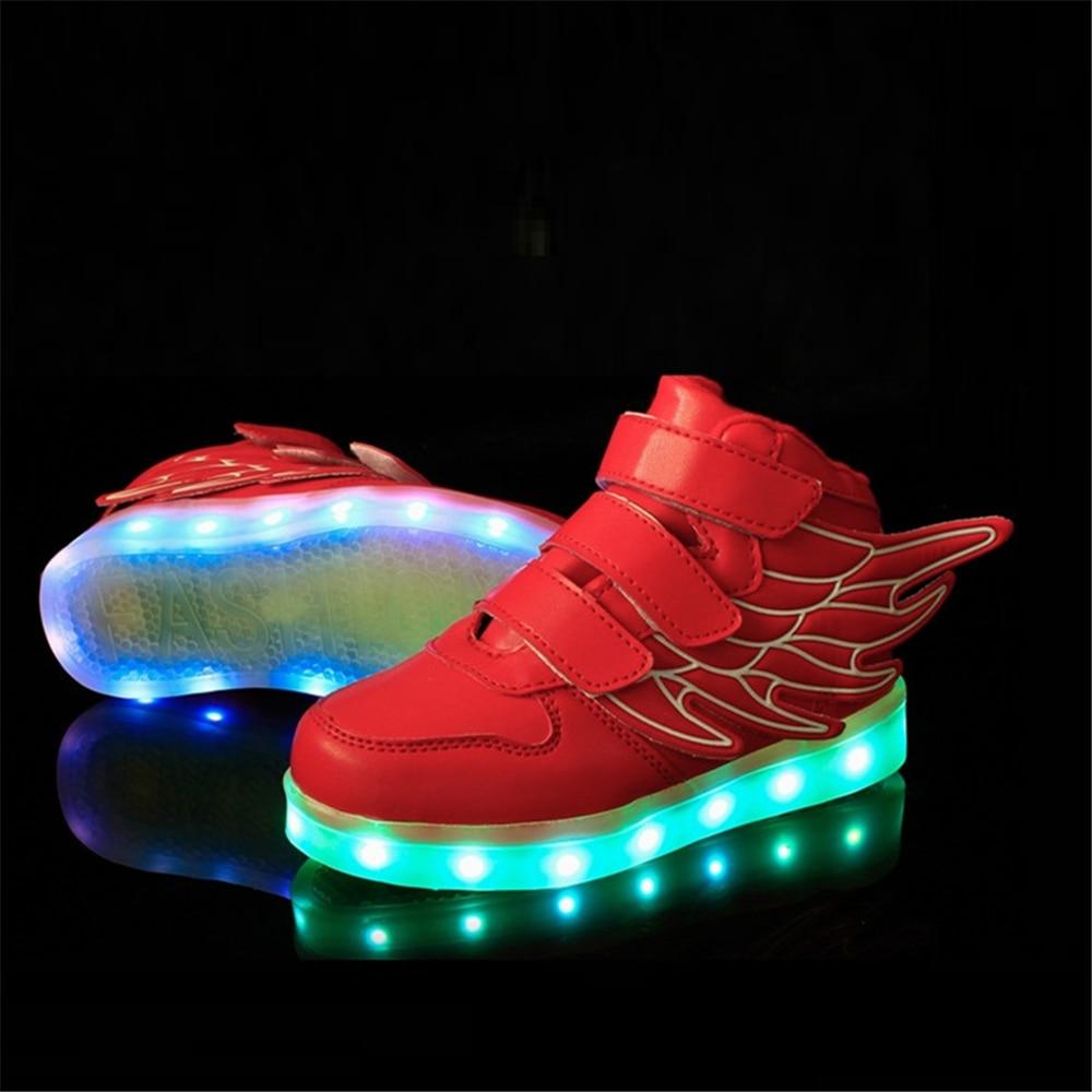 Eur 25-37 Kids Sports Sneakers New Arrival Charging Luminous Lighted LED Lights Children Sports Shoes Led Shoes For Kids AG04-1 набор для лепки росмэн герои в масках 33353