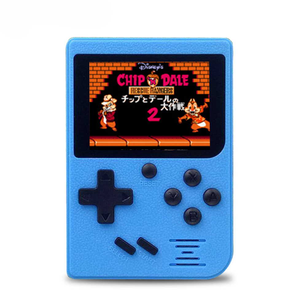 Convenient Q6 Handheld Game Console AV Out Gaming Machine 800mAh Battery Built-in 129 Classic Games With 2 4 inch Screen Display