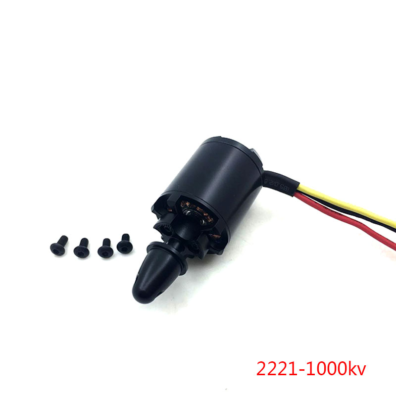 QX-MOTOR High Quality Brushless Motor DIY Drone Parts 2221 1000kv Metal Material Motor For RC Airplane Accessories high quality 3d brushless motor h2221