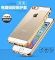 New Fashion Royal Luxury style Plating Gilded TPU Phone Case For Apple iPhone 5SE SE silicone soft Back Case Cover Iphone5 SE