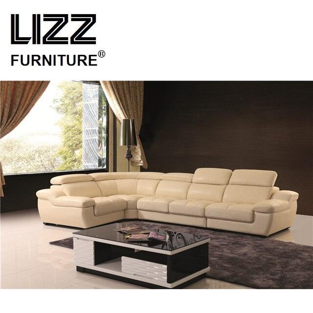 US $1400.0 |Leisure Home Sofa Sets Office Furniture Genuine Leather Sofas  For Living Room Corner Divani Couch-in Living Room Sofas from Furniture on  ...