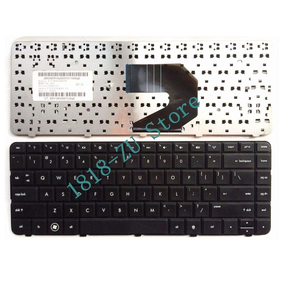 YALUZU English US Black Keyboard For HP 9Z.N6WSF.101 AER15U00310 R15 698694-BA1
