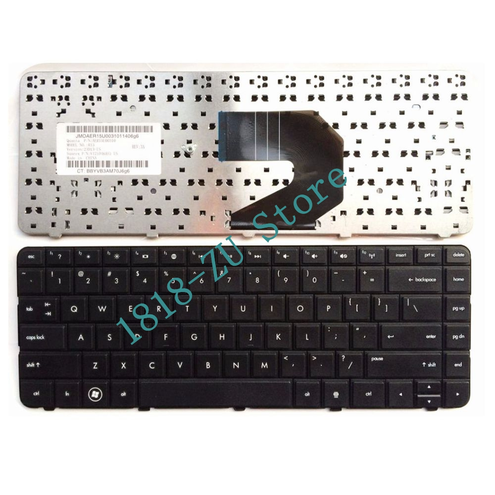 Original New For Toshiba V000272340 Black US keyboard With Frame