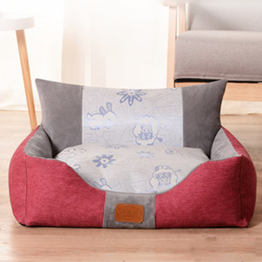 Home & Garden Charitable Dog Bed Puppy Sofa Outdoor Dog Houses Accessories Cover Fencing Cobayas De Mascotasr Pet Transport Kennel Animal Products 701058 Pet Products