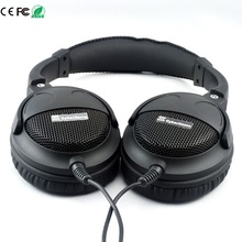 Super Bass Headset Hi-Fi Sound Headphones 40mm Six Speakers Units DIY Headphone Grade Fever 3.5mm Earphone Without Microphone