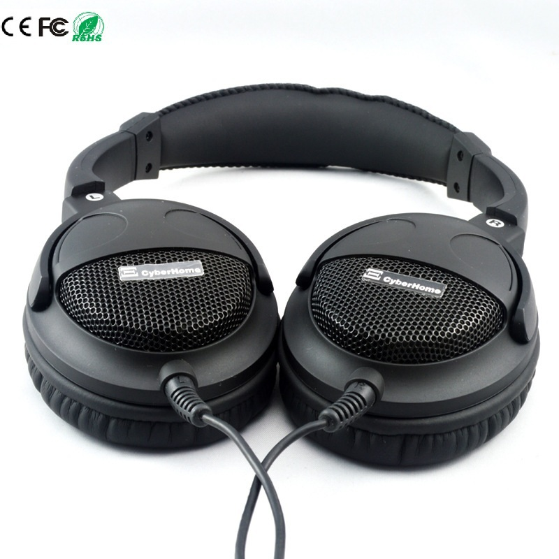Super Bass Headset Hi-Fi Sound Headphones 40mm Six Speakers Units DIY Headphone Grade Fever 3.5mm Earphone Without Microphone