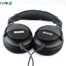 Wholesale Super Bass Headset Hi-Fi Sound Headphones 40mm Six Speakers Units DIY Headphone Grade Fever 3.5mm Earphone Without Microphone