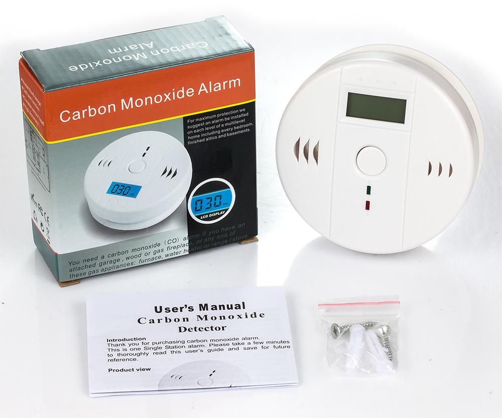 Carbon Monoxide Alarm Detector 6