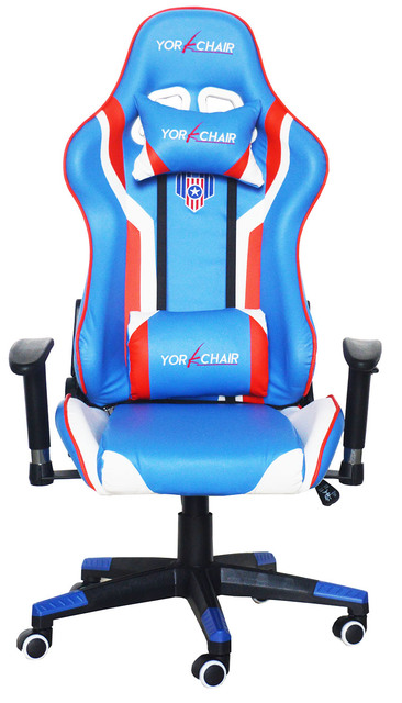 Red Blue White Office Chairs Gaming Chair Racing Seats