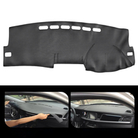 Leather Car Dashboard Cover Non Slip Dash Mat Pad Right Hand Driver FOR Toyota Corolla 2007 2013