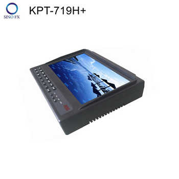 7inch LCD screen KPT-719H+ AHD DVB-S2 satellite finder 1080p satfinder meter & Monitor with AHD/HDIM/AV input