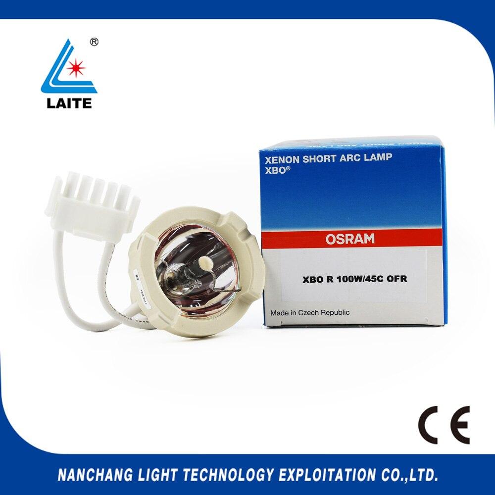 Оригинальный XBO R 100 Вт/45C DC 100 Вт ксенон короткий дуговая лампа гибкий эндоскоп микроскоп свет равных EPK-1000 OLX-20 OLX-22 100 Вт лампы