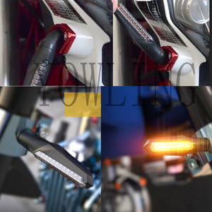 Image 5 - Сигнальный поворотник для мотоцикла, аксессуары CB190 MT 09, светодиодный водонепроницаемый сигнал поворота для мотоцикла, 150 НК, 12 В, предупреждающий индикатор потока