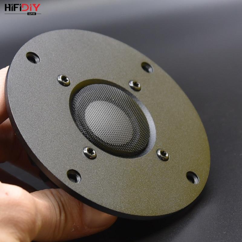 HIFIDIYLIVE 4 Inch Tweeter Speaker Unit Ceramic Membrane 8 OHM 30W Neodymium Magnetic Aluminum Panel Treble Loudspeaker F1-104NS