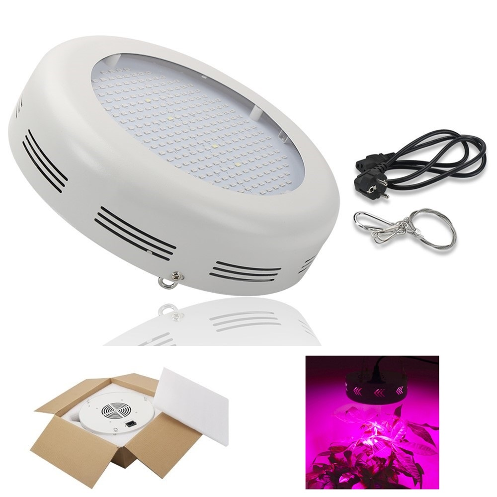 UFO LED Grow Light Full Spectrum SMD Chips Hydroponic Flowering Plant Lamp Hanging Type Grow Lamp For Greenhouse Indoor