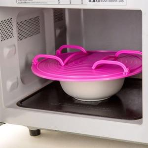 Многофункциональный многослойный поднос с подогревом для микроволновой печи, двухслойный держатель чаши, органайзер, аксессуары для кухни