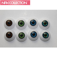 5 Pairs 20 22 Inches Reborn Babies Doll Kits 22 Mm Half Round Toys Eyes Acrylic