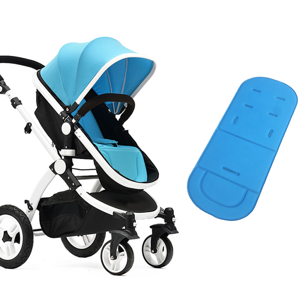 Newborn In Pram Seat Us 3 64 21 Off Baby Stroller Mat Mattress Newborn Stroller Cushion Pushchair Seat Cover Diaper Pad Infant Comfortable Pram Stroller Accessory In